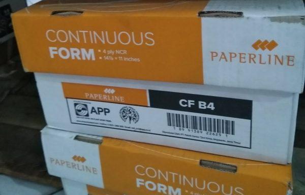 Kertas Countinuous Besar 4 ply