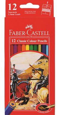 Pensil 12 warna Classic Faber Castell