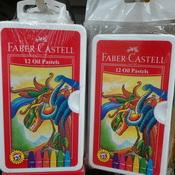 Crayon 12 warna Faber castell