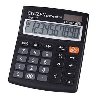 Kalkulator Citizen SDC 810