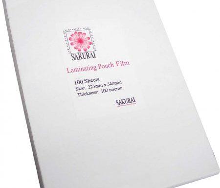 Plastik Laminating ukuran Folio
